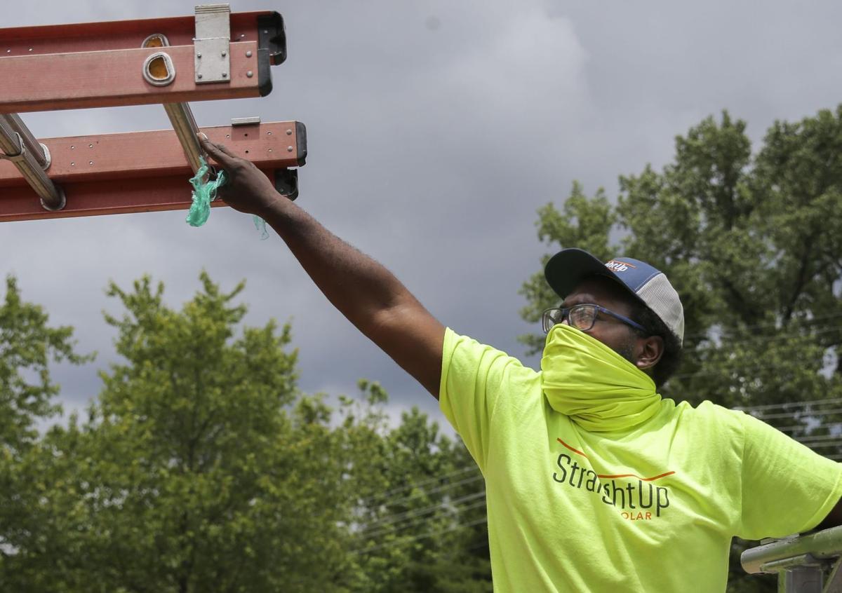 Workforce training program graduate gets job