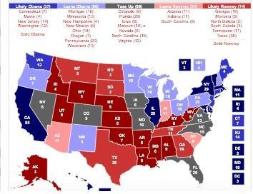 RCP electoral map | | stltoday.com