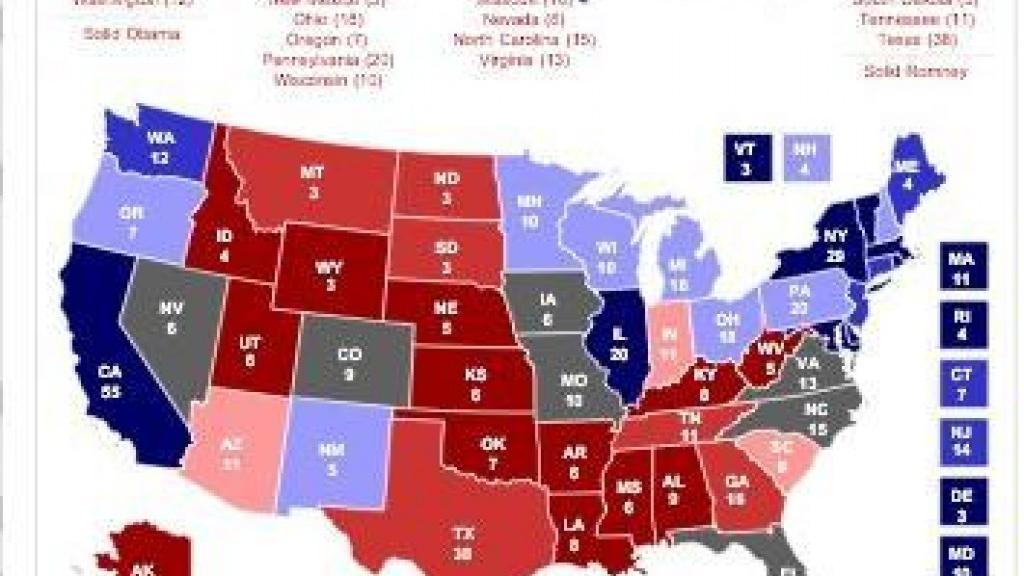 RCP electoral map | | stltoday.com