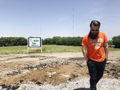 Activist Michael Burton opposed a housing development at Tower Tee for more than a year. He won.