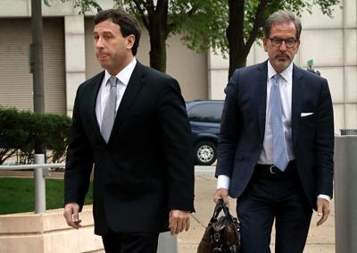 Steve Stenger arrives at federal court expected to plead guilty to charges