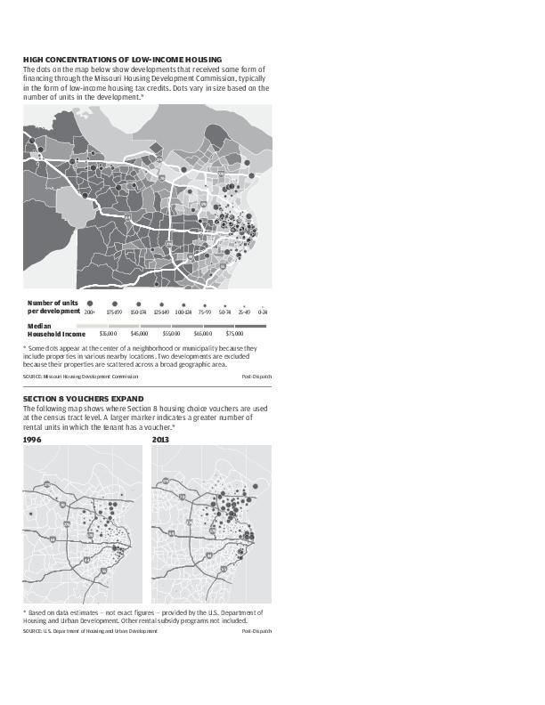 Graphic: Low-income housing in St. Louis