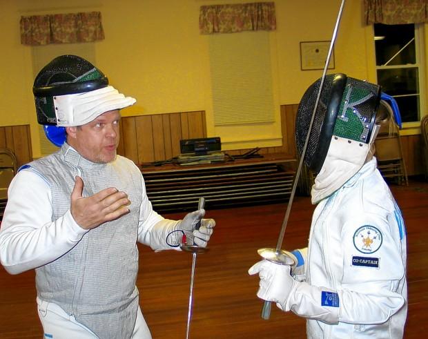 Millstadt fencing team