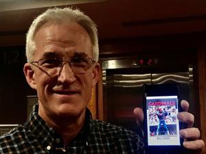 Hochman:1980年代にはセプレイヤーがつ彼のToppsカード---35年後