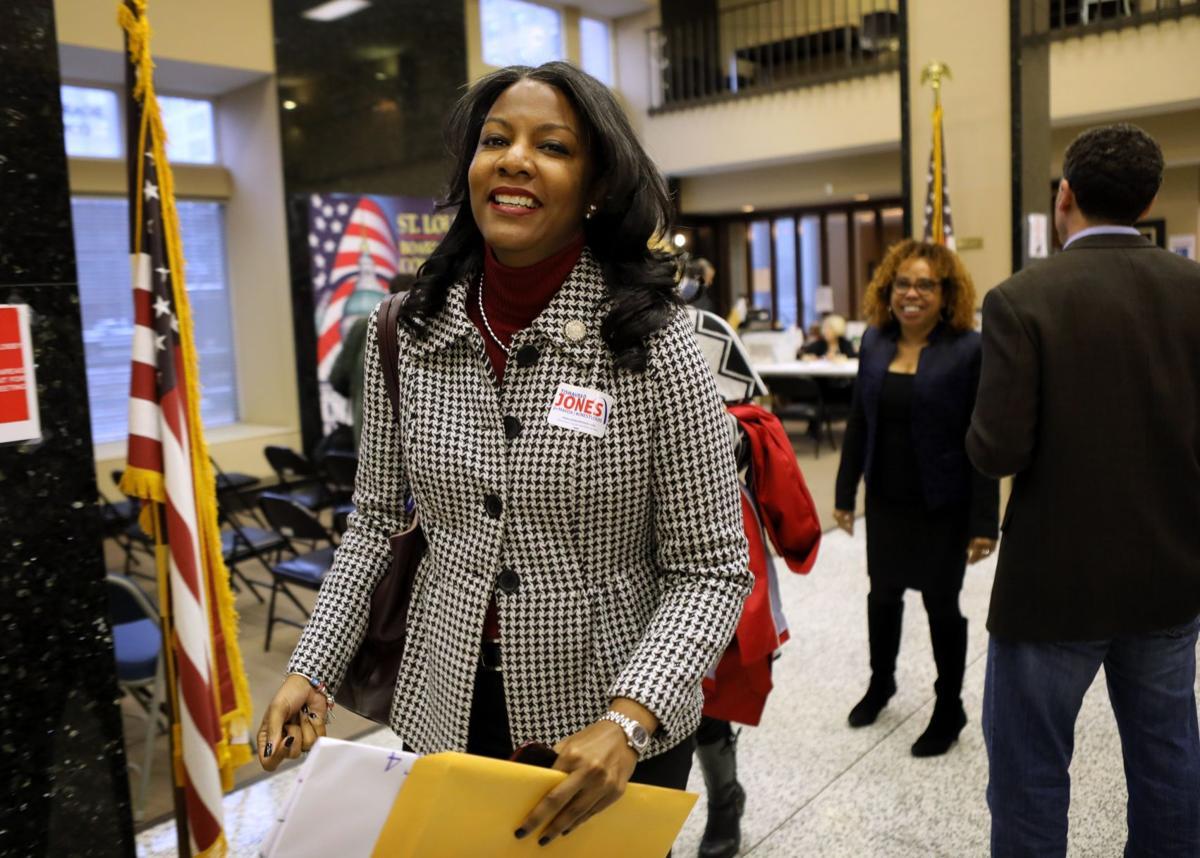 Tishaura Jones files to run for mayor of St. Louis