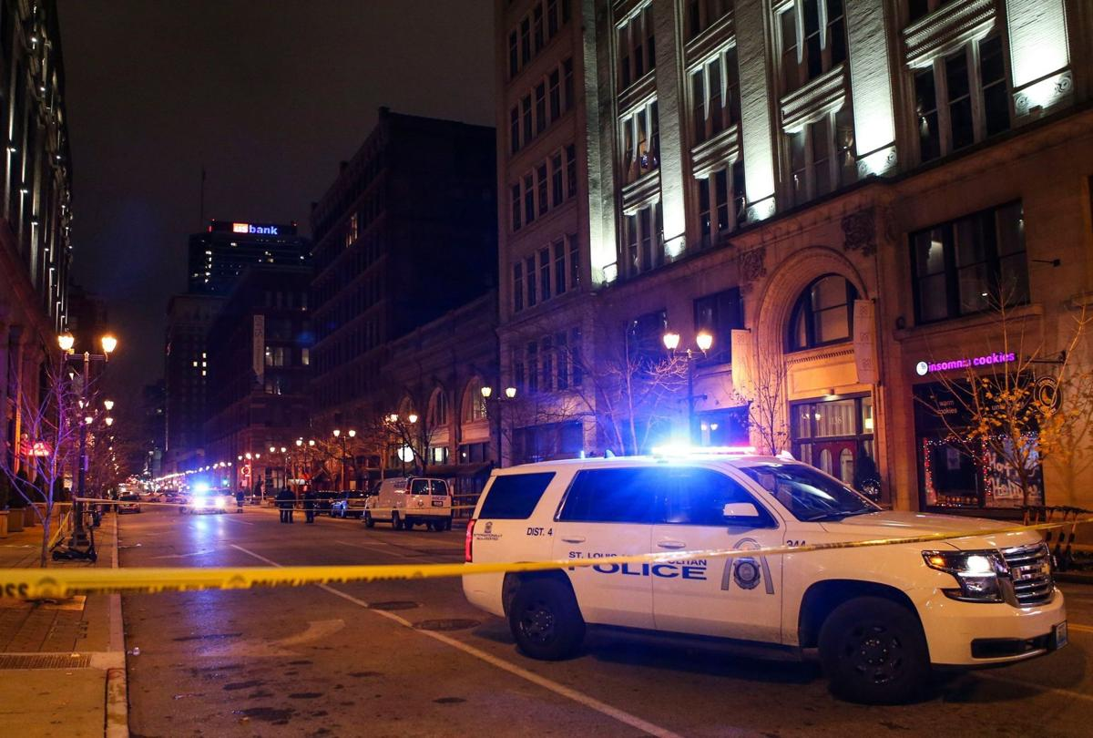 Four people shot in downtown St. Louis