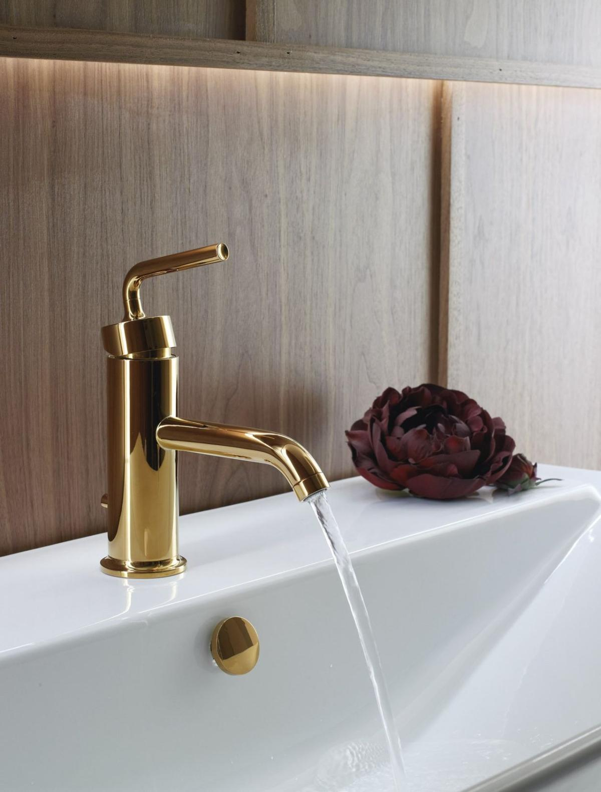 Gold Is Back In Home Decor And Design But Not Like You Remember - Pacific sales bathroom faucets for bathroom decor ideas