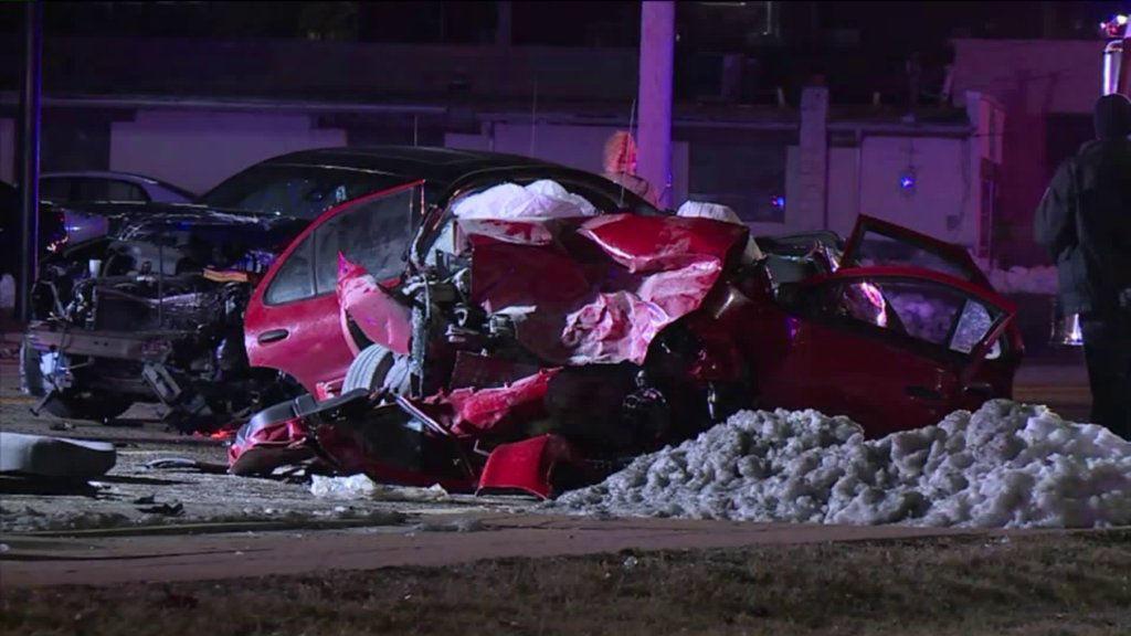 Crash in St. Ann