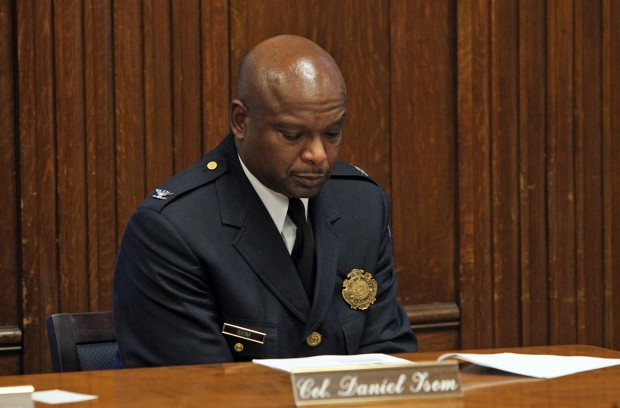 St. Louis Police Chief Dan Isom