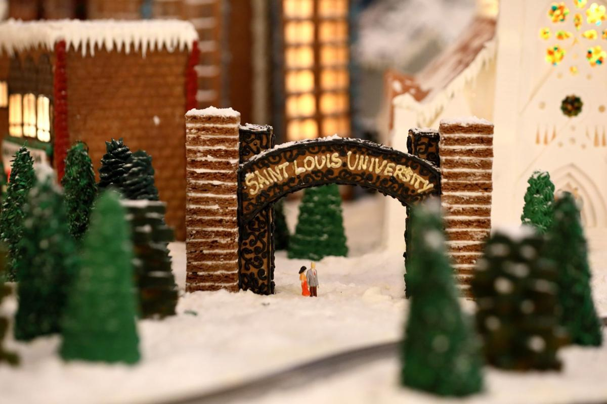 Chase Park Plaza Gingerbread houses