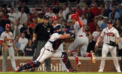 St. Louis Cardinals vs Atlanta Braves, Game 1 NLDS in Atlanta