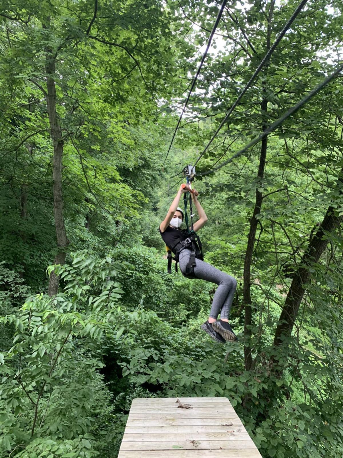 Staycation — ziplining grafton