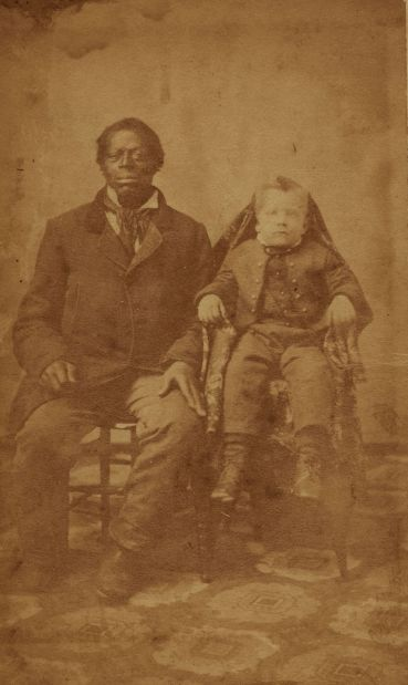 Slave with master's son