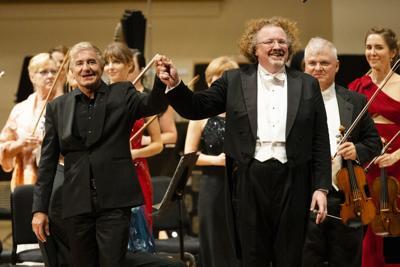 Jean-Yves Thibaudet and Stephane Deneve at Powell Symphony Hall, 9/21/19