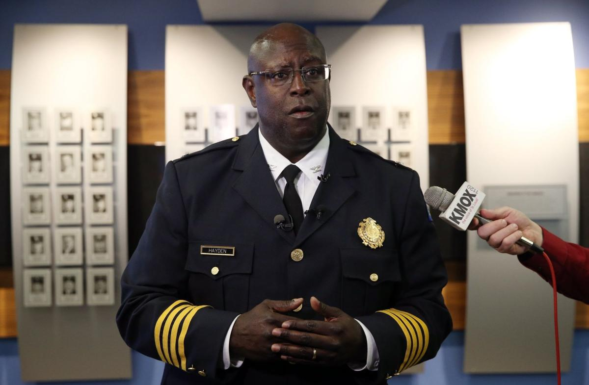 St. Louis Police Chief John Hayden