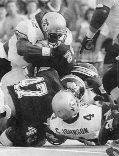 The fifth down in Missouri-Colorado game in 1990