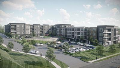 Holland Construction Services Building New Upscale Apartment Complex  in Maryland Heights, Missouri