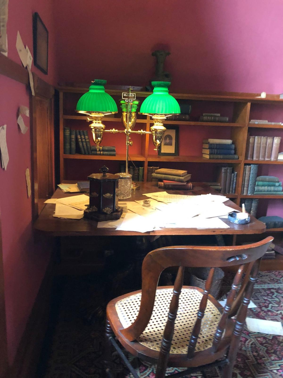 Mark Twain's writing desk