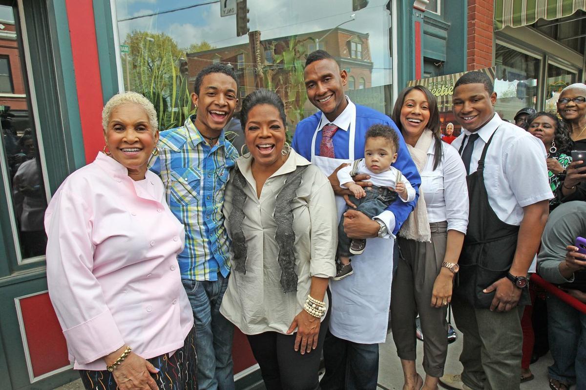 Oprah visits sweetie pies in St. Louis, MO