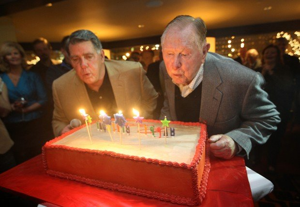 Mike Shannon and Red Schoendienst