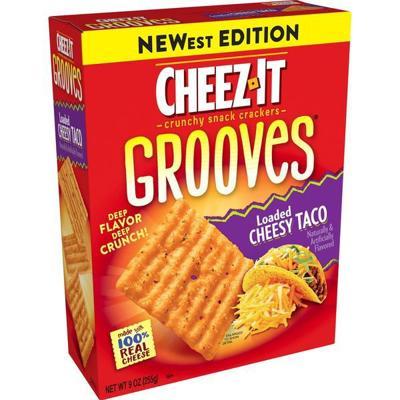 Loaded Cheesy Taco Cheez-Its