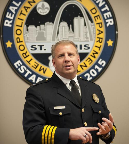 St. Louis city police open Real Time Crime Center