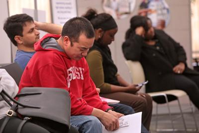 Going through registration process