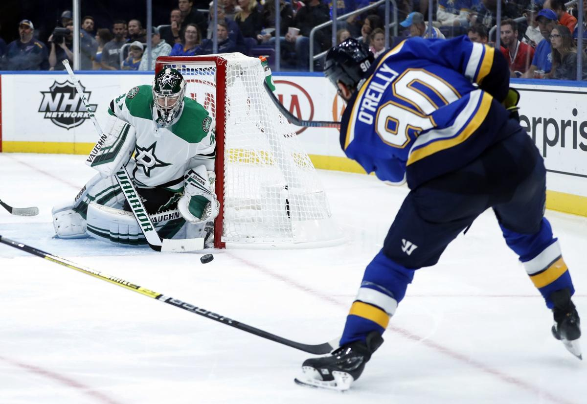 blues 39 o 39 reilly has been a faceoff machine st louis blues. Black Bedroom Furniture Sets. Home Design Ideas