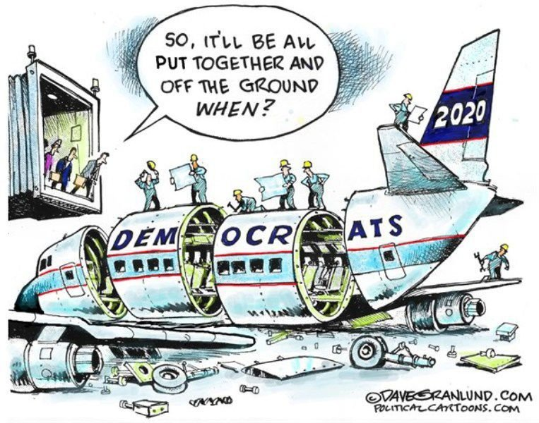 In the cartoons: Democrats; Climate change; NRA