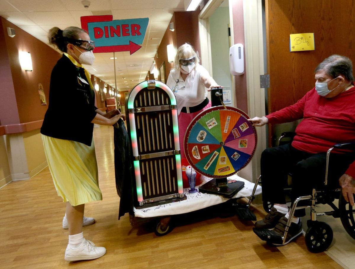 40s Day at Oak Hill Senior Living and Rehabilitation Center