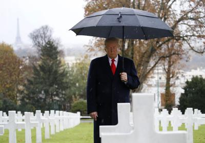 Remembering Trump's Armistice Day centennial trip to France