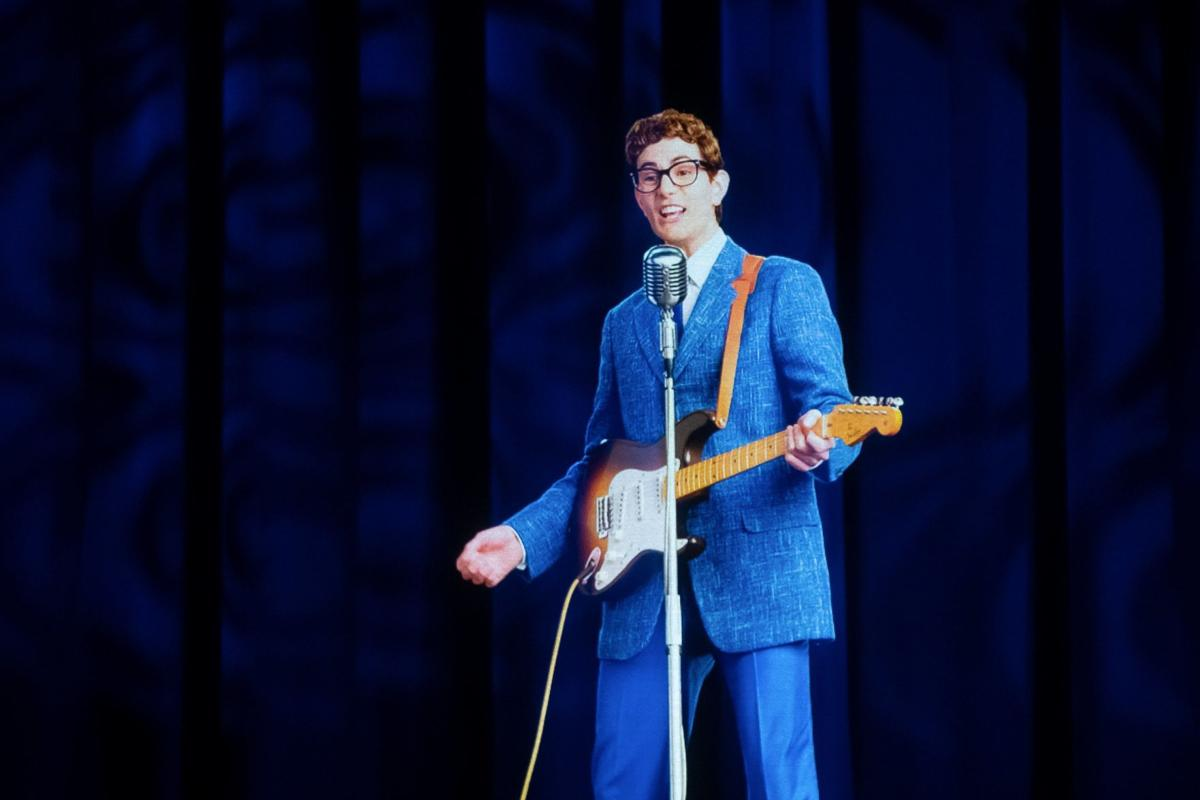 Roy Orbison and Buddy Holly holograms at Stifel Theatre