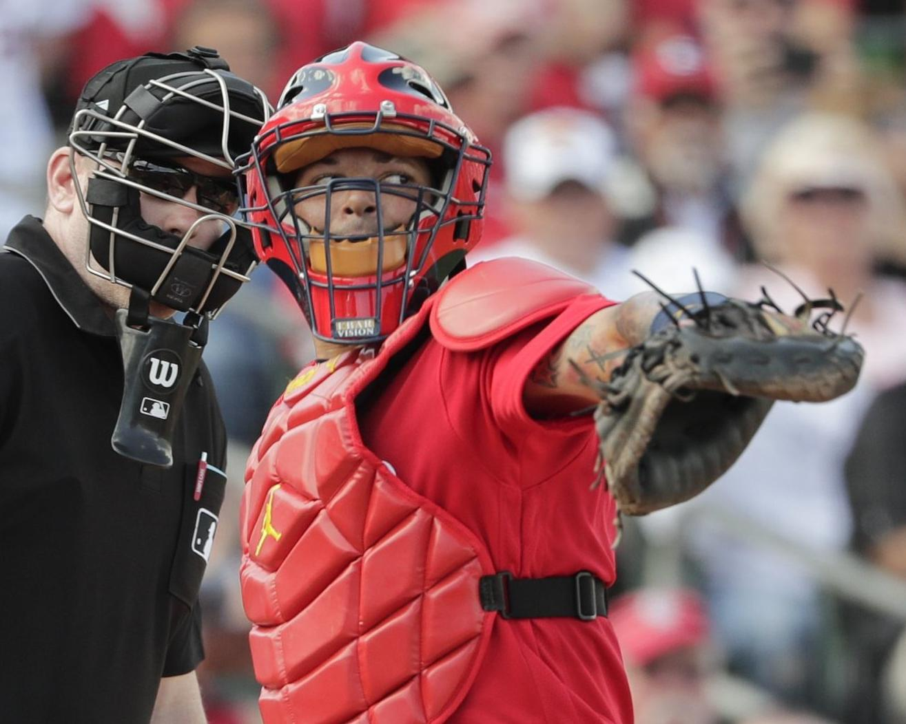 Yadi opens up: Cardinals' catcher talks speed, retirement and one goal he still seeks