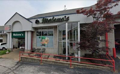Malone's exterior
