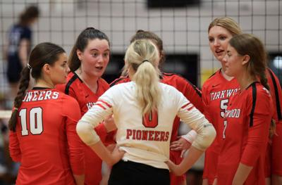 Kirkwood vs. Parkway South girls volleyball