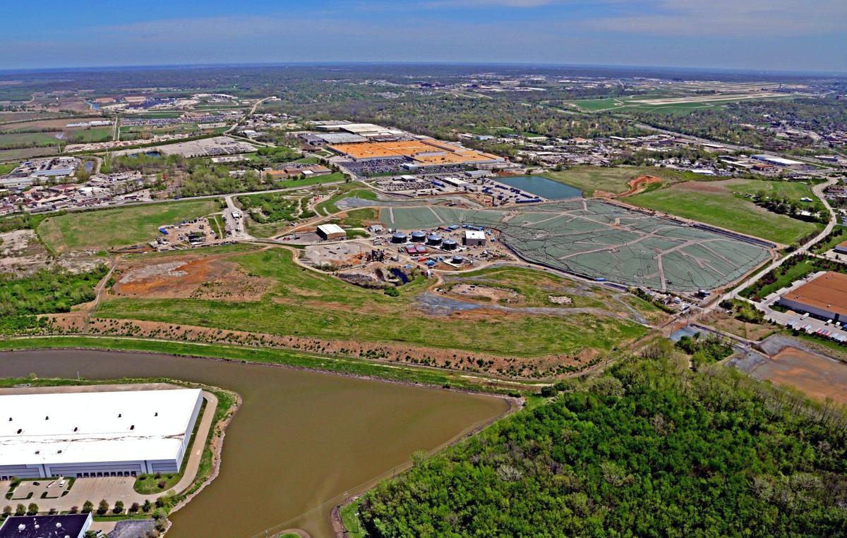 Bridgeton West Lake Landfill area