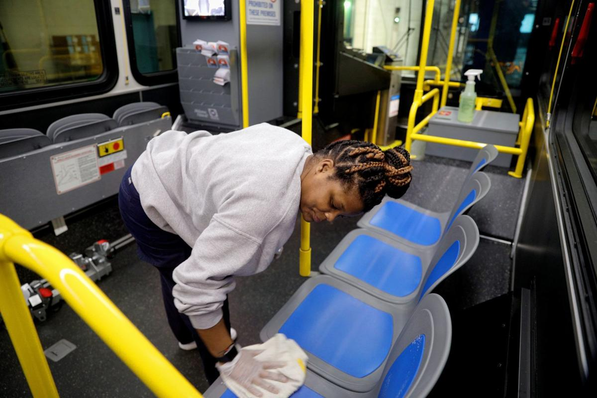 Metro works to keep public vehicles clean