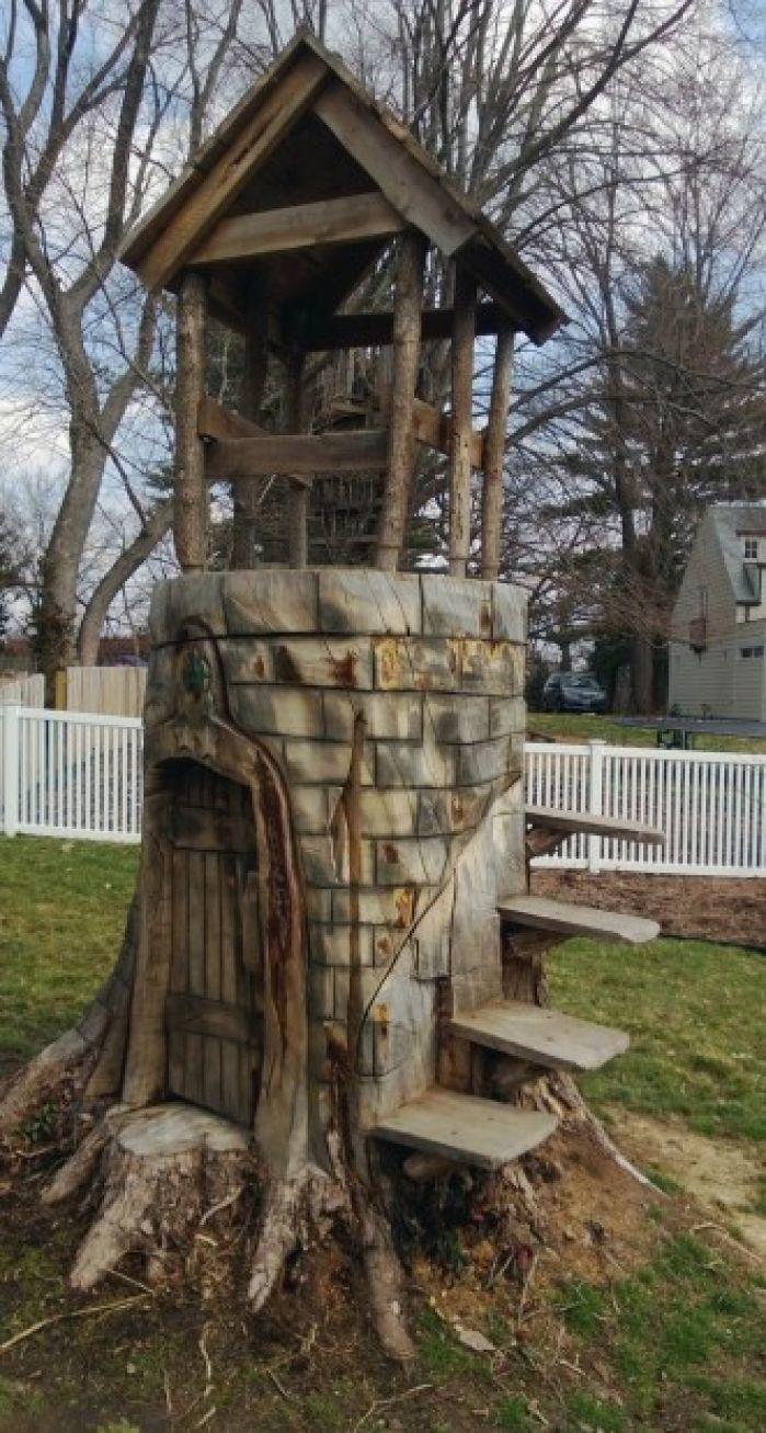 Tree Stump Art News