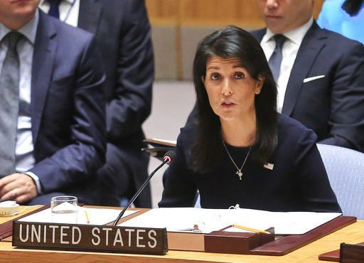 Nikki Haley accepted Trump's offer to be United Nations ambassador on conditions