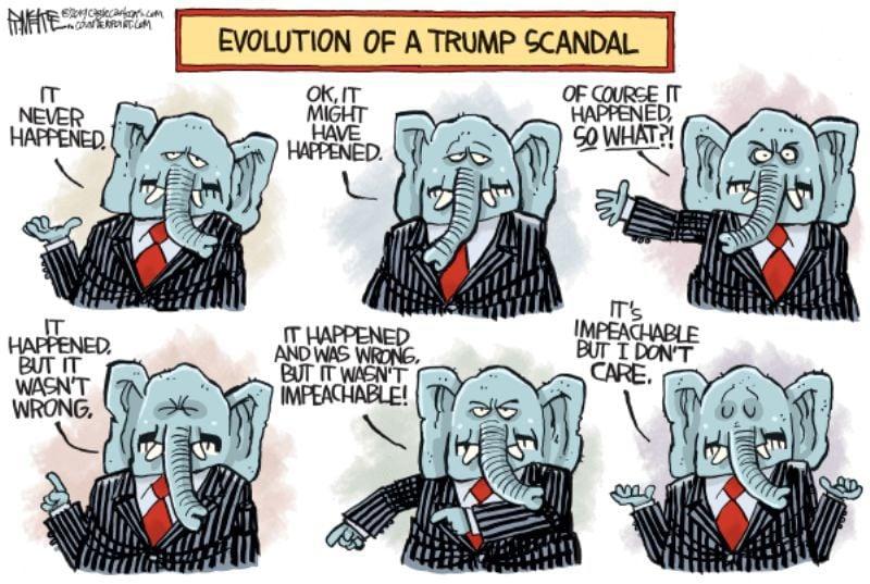 In the cartoons: Impeachment; Bloomberg; Graham