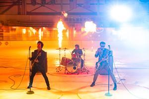 Green Day εκτέλεση δωρεάν εκτός Enterprise Κέντρο πριν NHL All Star Game