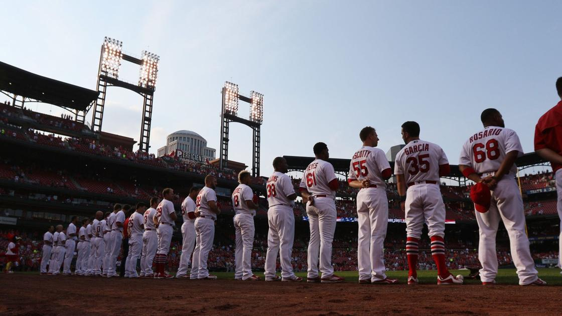 Cardinals Don T Protest During Anthem St Louis