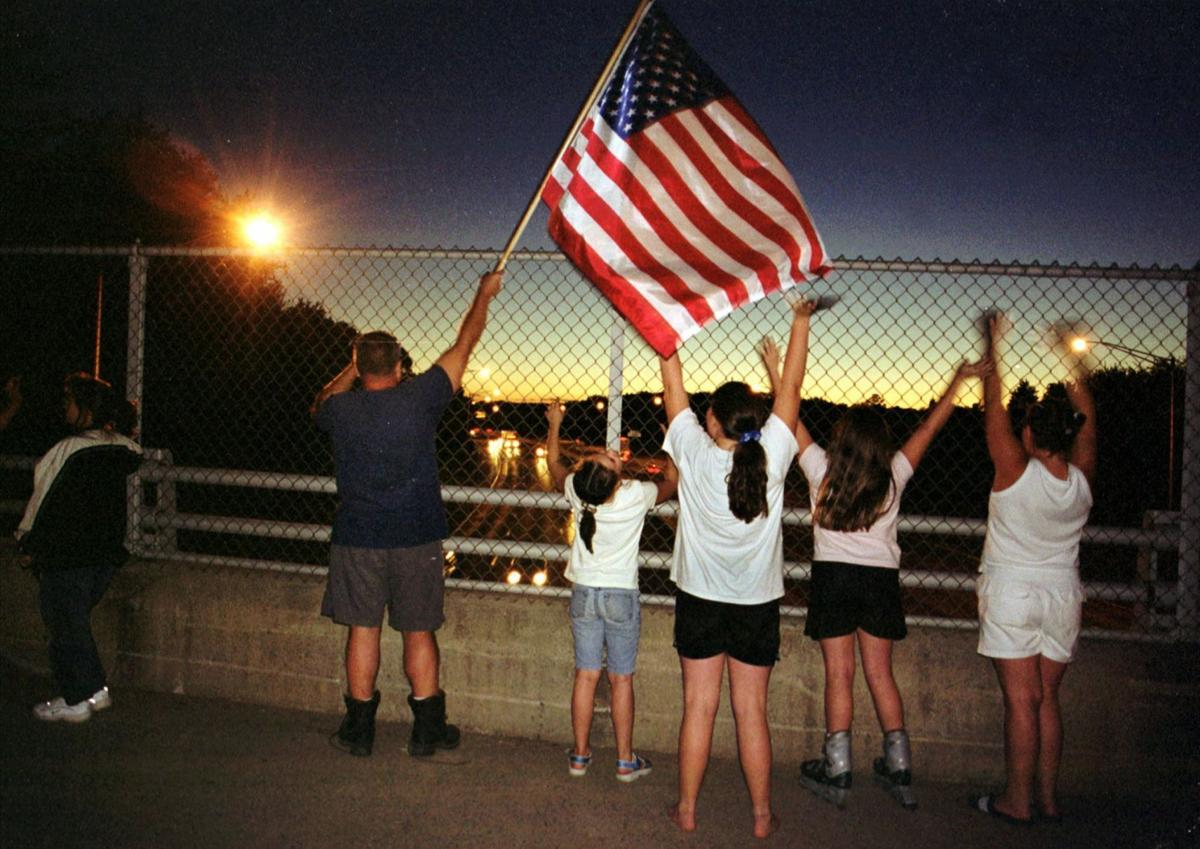 Early hours after 9/11 attacks
