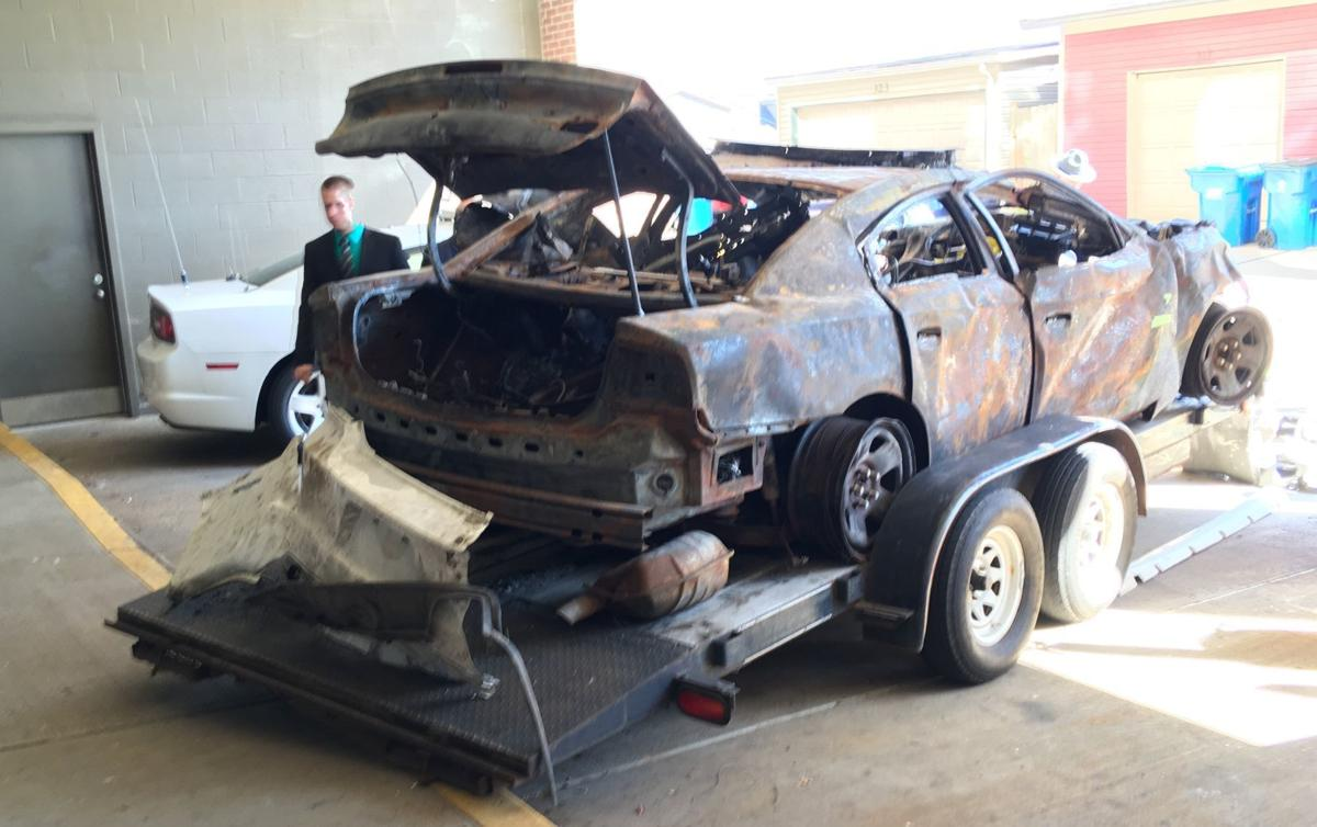 Jurors shown wrecked state trooper's vehicle during Serghei Comerzan manslaughter trial