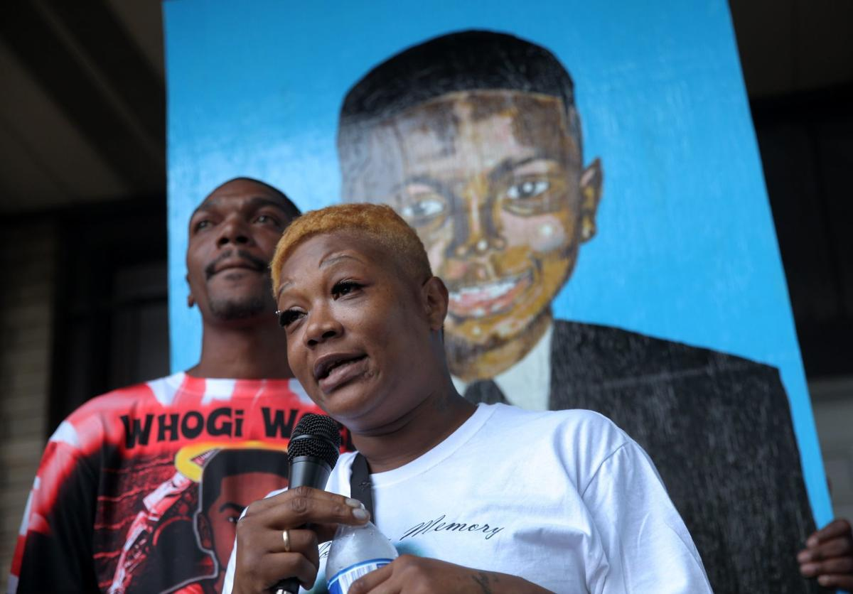Vigil honors 10-year-old killed last week