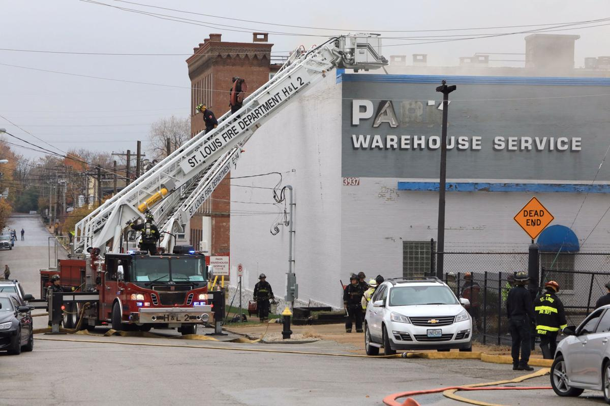 Massive Warehouse Fire In St Louis Smolders Into Thursday Law And Engine Air Brake Diagram Order
