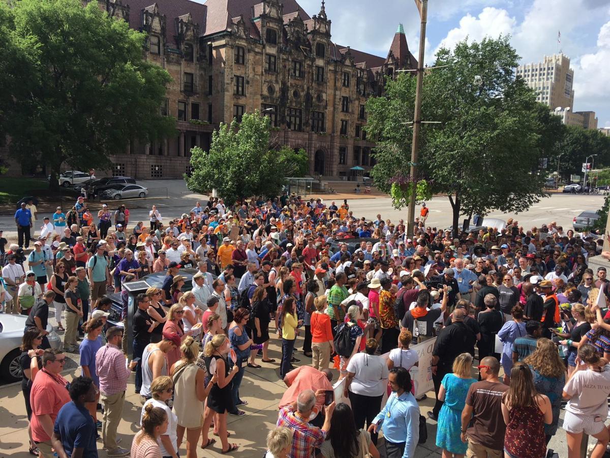 Bail reform rally
