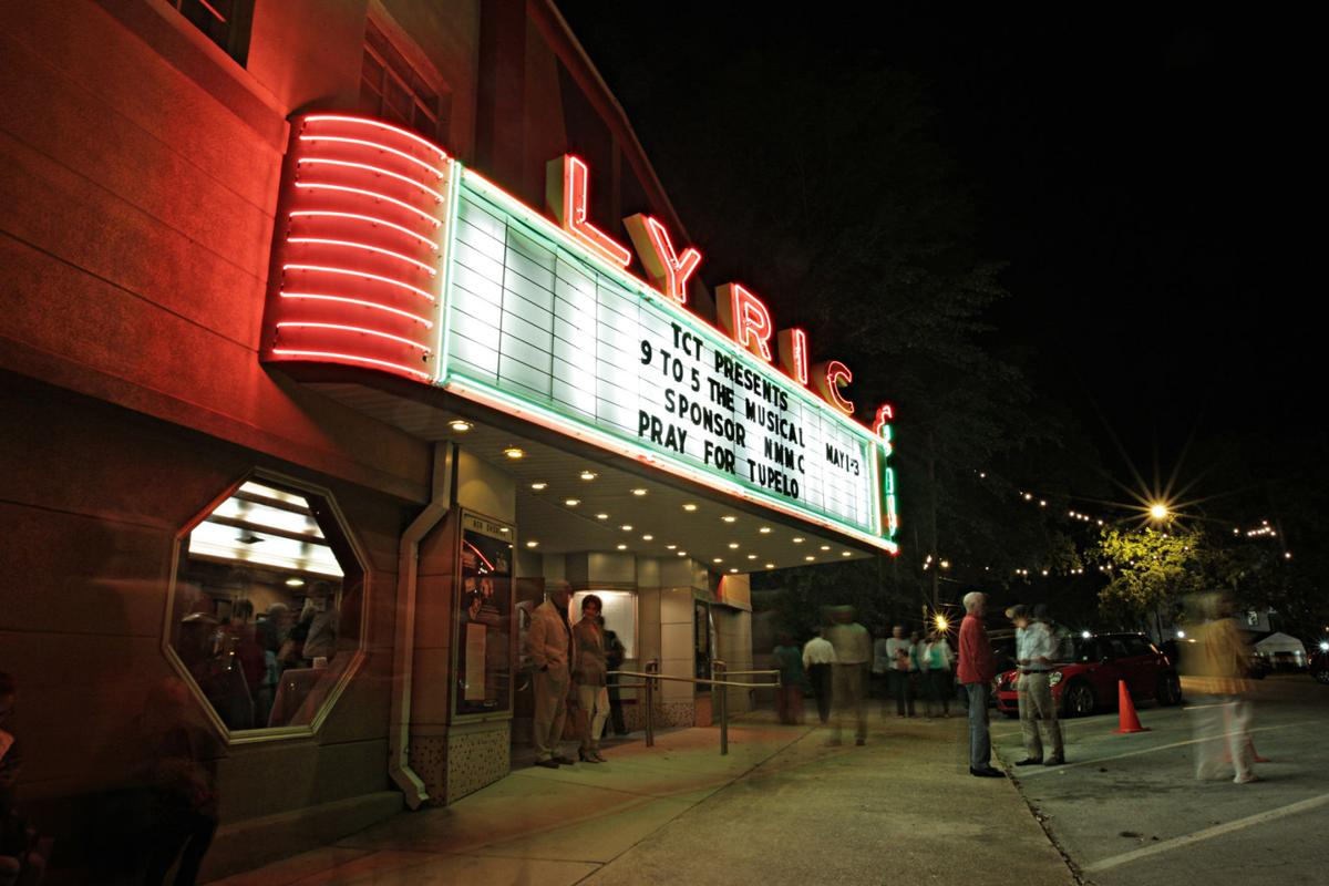 The historic Lyric Theatre in downtown Tupelo, Miss., which also serves as the fourteenth marker on Elvis' Tupelo Driving Tour.