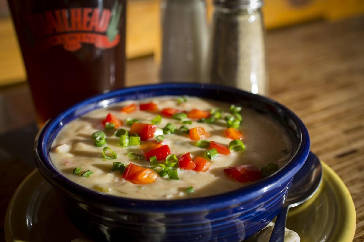 Trailhead Brewing Company seafood bisque