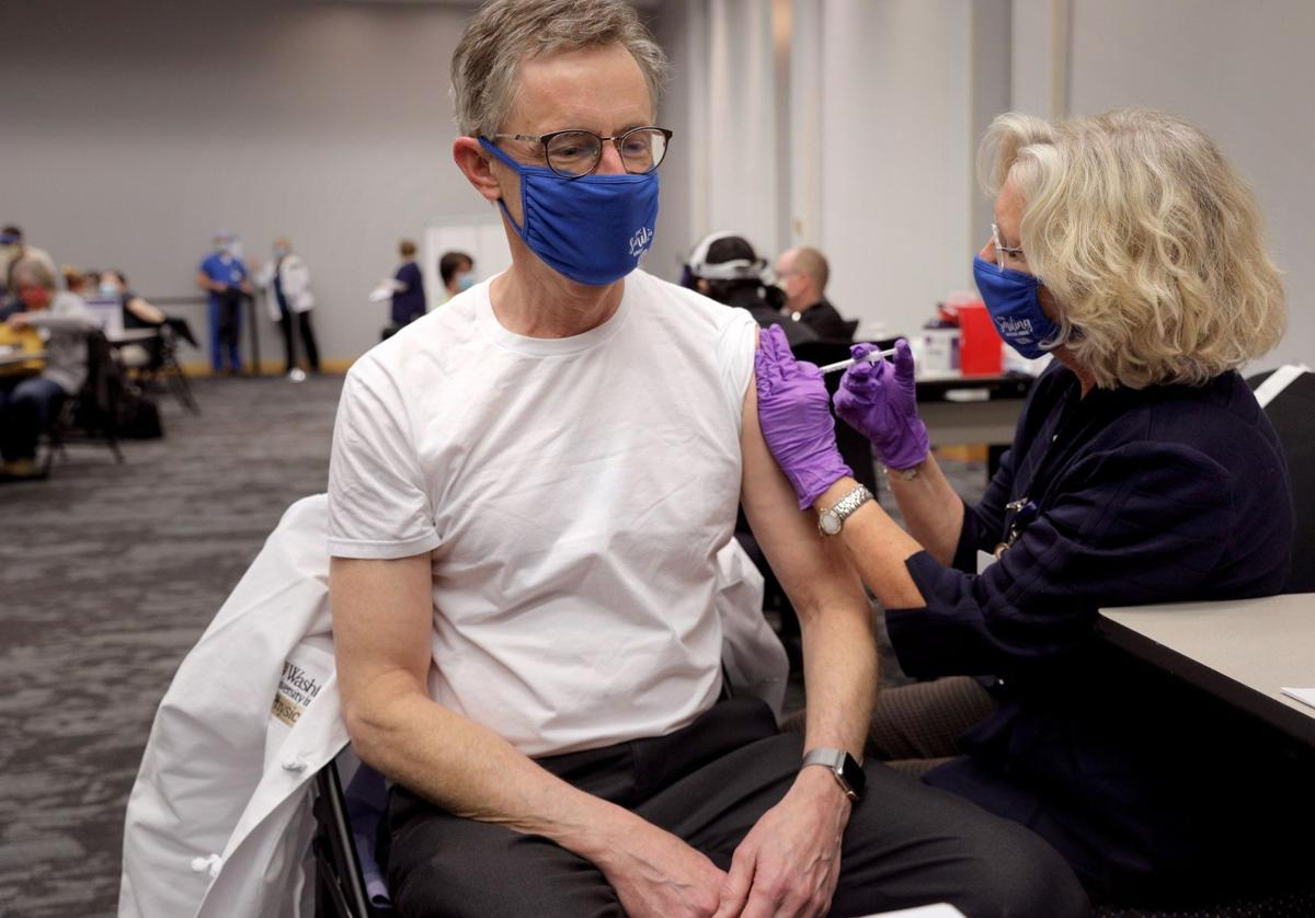 BJC begins vaccinating frontline caregivers